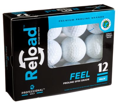 RELOAD Recycled Golf Balls - 12-Pack
