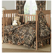 Bass Pro Shops Realtree MAX-4 Crib Bedding Collection