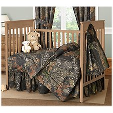 Bass Pro Shops Mossy Oak Break-Up Crib Bedding Collection