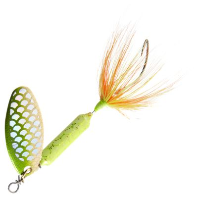 Worden's Original Rooster Tail 1/4 oz. Lure – Strobe Chartreuse