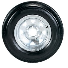 C.E. Smith Replacement Tire and Wheel Assembly - Galvanized