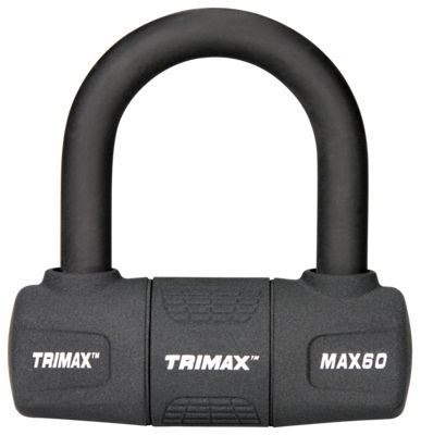 Trimax Short Shackle U-Lock with PVC Sleeve by