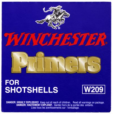 Winchester 209 Primers for Shotshells