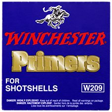 Winchester #209 Primers for Shotshells
