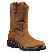 Wolverine Wellington Plain-Toe Work Boots for Men