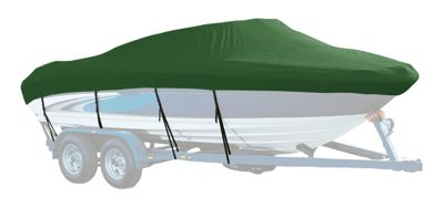 Westland Select Fit Boat Cover for Flats Boats - Forest Green - 17'6-18'5