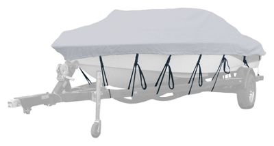 Westland Exact-Fit Boat Cover for Fish & Ski Boats - 17'6''-18'5'' - Linen