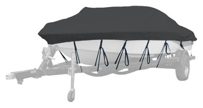 Westland Select Fit Boat Cover for Aluminum Jon Boats with Square Front - 14'6''-15'5'' - Charcoal