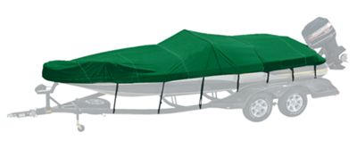 Bass Pro Shops Woodland Exact Fit Custom Boat Cover - Nitro Boats - 2002-2005 188 Sport - Forest Green