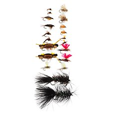 White River Fly Shop 20-Piece Trout Starter Assortment