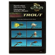 White River Fly Shop Handcrafting Effective Flies - Trout Video with Lefty Kreh & Mike Huffman - DVD
