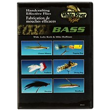White River Fly Shop Handcrafting Effective Flies - Bass Video with Lefty Kreh & Mike Huffman - DVD