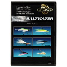 White River Fly Shop Handcrafting Effective Flies - Saltwater Video with Lefty Kreh - DVD