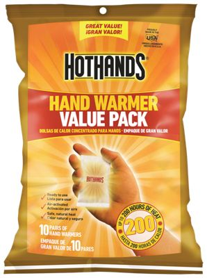 HeatMax HotHands Self-Activating Hand Warmer Value Pack by