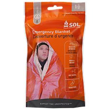 Heatsheets Adventure Medical Kits S.O.L. One Person Emergency Blanket