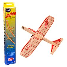 Channel Craft Jetfire Balsa Wood Glider Planes