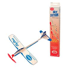 Channel Craft Sky Streak Balsa Wood Power Planes