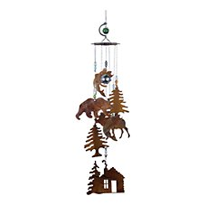 Sunset Vista Designs Rustic Lodge Wind Chime