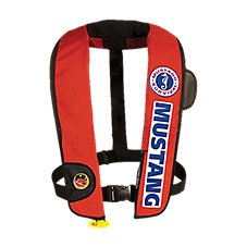 Mustang Survival Competition Inflatable Life Vest with HIT - Model MD3183 BC