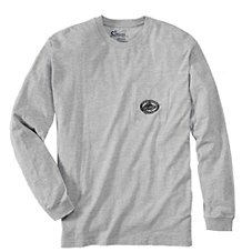 25c73c5b Offshore Angler Distressed Logo True Fit Long-Sleeve T-Shirts for Men