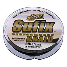 Sufix Performance Braid Fishing Line - 300 Yard Spool