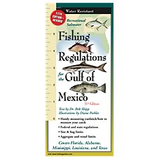 Fishing Regulations for the Gulf of Mexico Folding Guide, 11th Edition