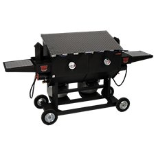 Cajun Fryer by R & V Works Propane Deep Fryer - 17-Gallon
