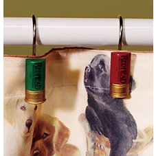 Bass Pro Shops Retriever School Bathroom Accessories Shower Curtain Hooks