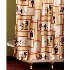 Bass Pro Shops Retriever School Bathroom Accessories Shower Curtain