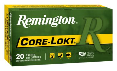 Remington Core-Lokt Rifle Ammo -.35 Whelen – Pointed Soft Point – 250 Grain
