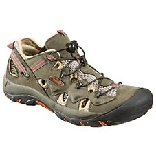 World Wide Sportsman Copper River II Water Shoes for Men - Olive/Beige Image