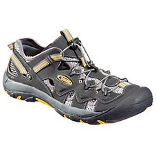 World Wide Sportsman Copper River II Water Shoes for Men - Steel/Blue