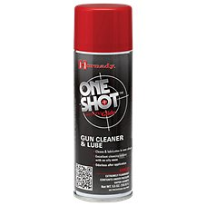 Hornady ONE SHOT with DynaGlide Plus Gun Cleaner and Dry Lube