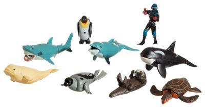 Wild Republic Eco Expedition Ocean Dive Movable Action Play Set