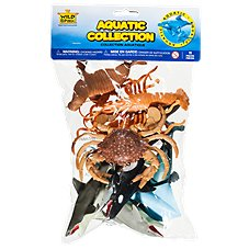 Wild Republic Aquatic Figurines in Polybag