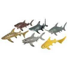 Wild Republic Polybag of Shark Figurines