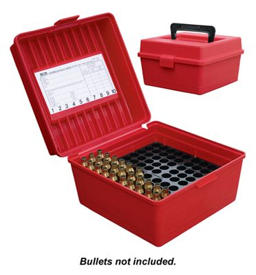 Mtm Case-Gard R-100 Deluxe Rifle Ammo Box Wsm/Wssm/Ultra by USA MTM Specialty Shooting & Gun Accessories