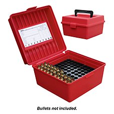 MTM Case-Gard R-100 Deluxe Rifle Ammo Boxes
