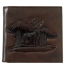 Bass Pro Shops Montana Leather Hipster Wallet - Buck