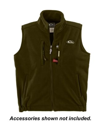 Drake Waterfowl Systems MST Layering Vest for Men – Olive – 2XL