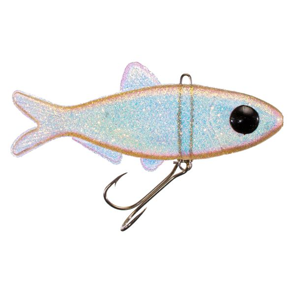 Creme Mad Dad Minnow 3.5' - Shad