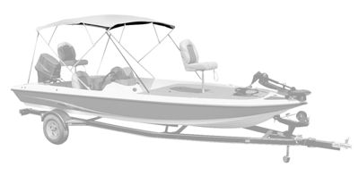 4 Bow Bimini Top 88 98W