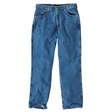 RedHead Relaxed Fit Five-Pocket Denim Jeans for Men