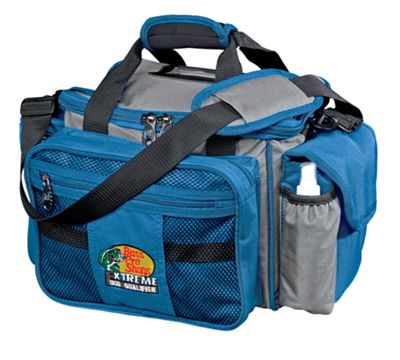 Bass Pro Shops Extreme Qualifier 360 Tackle Bag – Blue/Gray
