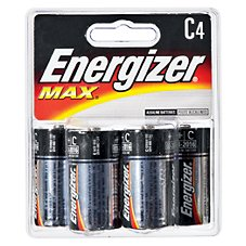 Energizer Max C Battery - 4 Pack