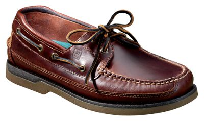 Sperry Mako 2-Eyelet Canoe Moc Boat Shoes for Men - Amaretto by