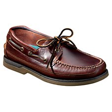 Sperry Mako 2-Eyelet Canoe Moc Boat Shoes for Men - Amaretto