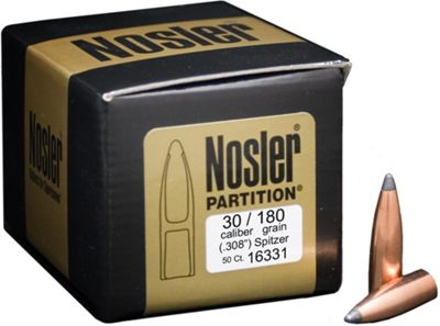 Nosler Partition Bullets 7Mm/ .284 140 Grain Spitzer, Rifle Bullets in USA & Canada