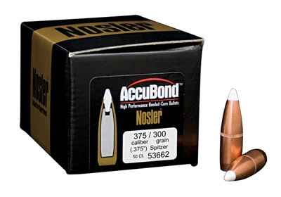 Nosler Accubond Bonded Core Bullets 30 Caliber 180 Grain 50 pack