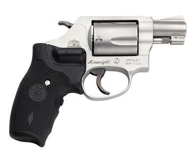 Smith & Wesson 637 Airweight Double-Action Revolver with Crimson Trace Lasergrip